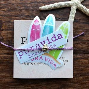 Puravida Peace Sign Bracelet ✌️💜